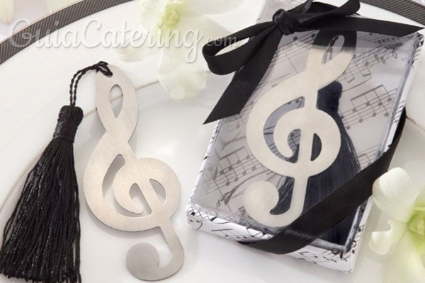 Convierte la música en el tema central de tu boda