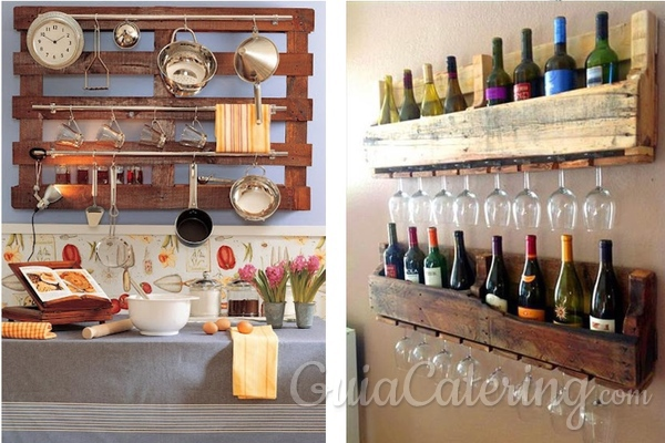 Decoracion Con Palets Para Comedores Y Cocinas Guiacatering Com
