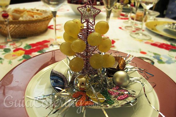 Formas originales de presentar las uvas en Nochevieja