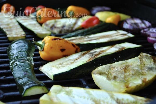 Cómo conseguir una parrillada de verduras sabrosa y diferente