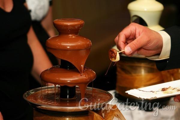 ¿Buscas ideas para las fuentes de chocolate?