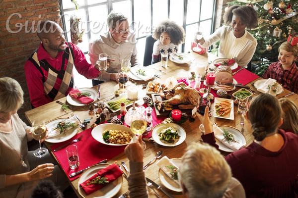 Catering a domicilio en Navidad