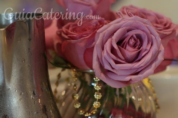 Colores para nuestra decoración de banquete de boda