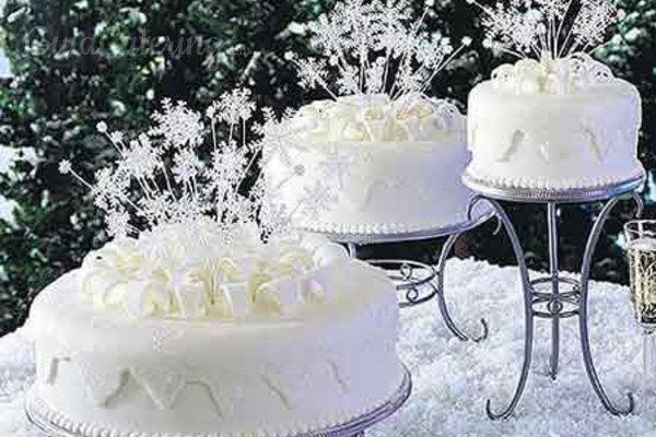 Pasteles de boda invernales: déjate arropar por el sabor