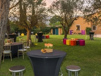 Catering coctel con buffet
