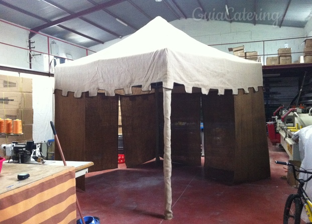 Carpa Plegable 3 x 3 Medieval